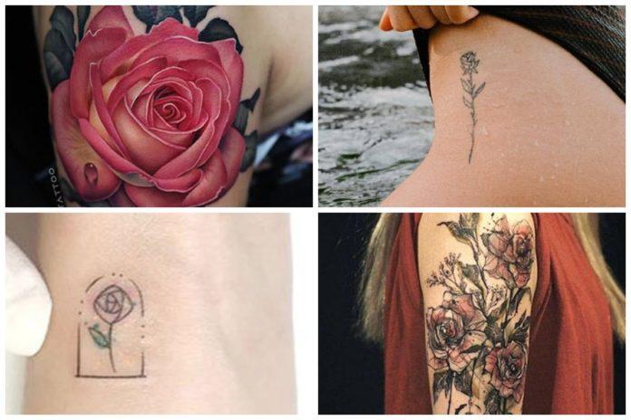 Tatuaggio Rosa: storia, tipologie e significato del tattoo